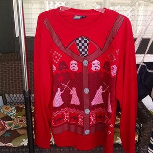 Star Wars Unisex Christmas Sweatshirt  Large